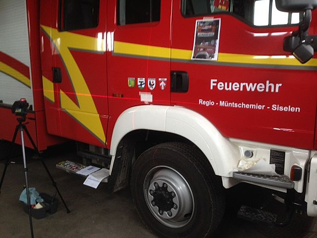 Beschriftung Feuerwehr