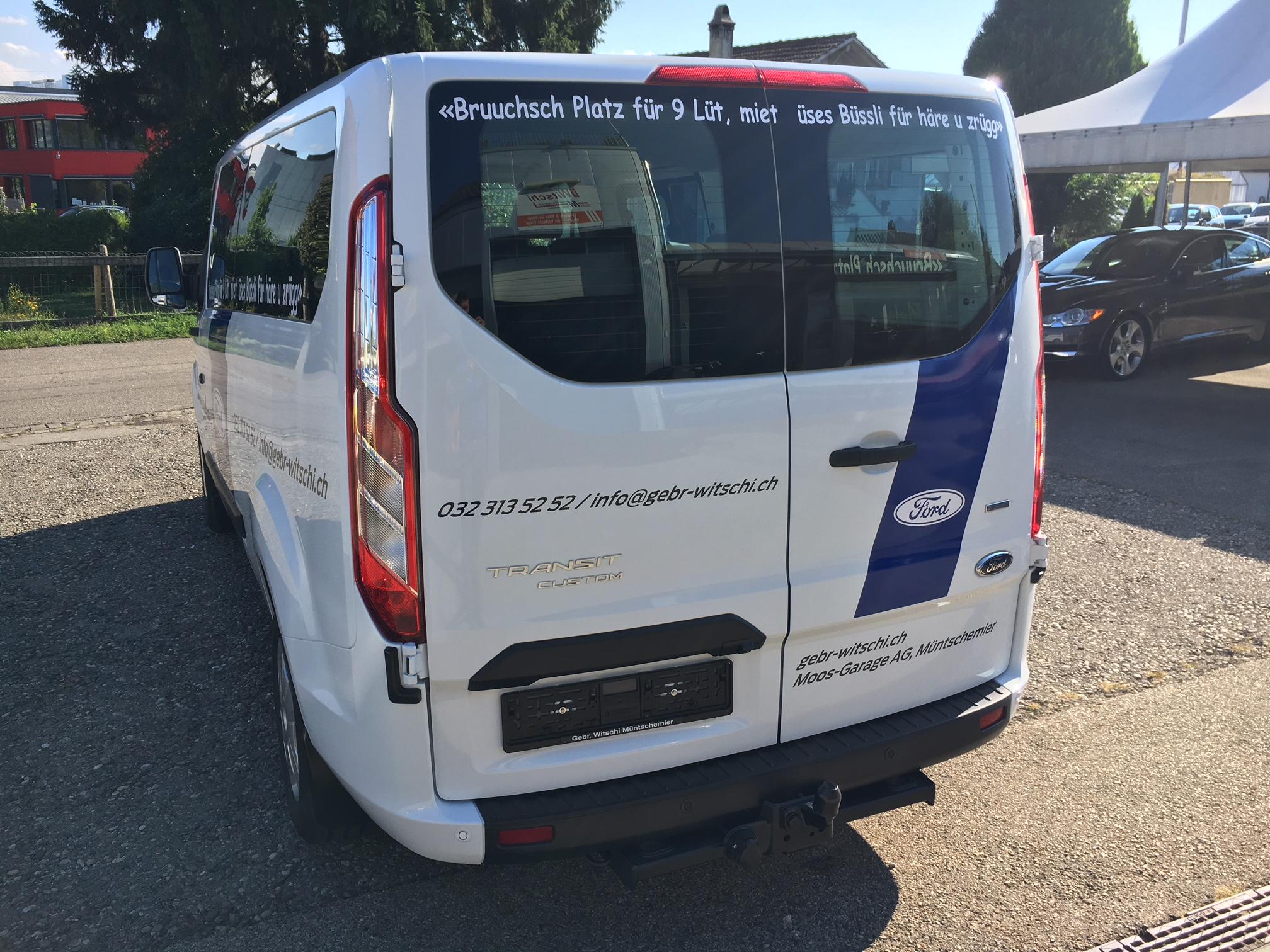 9 Plätzer Mietbus