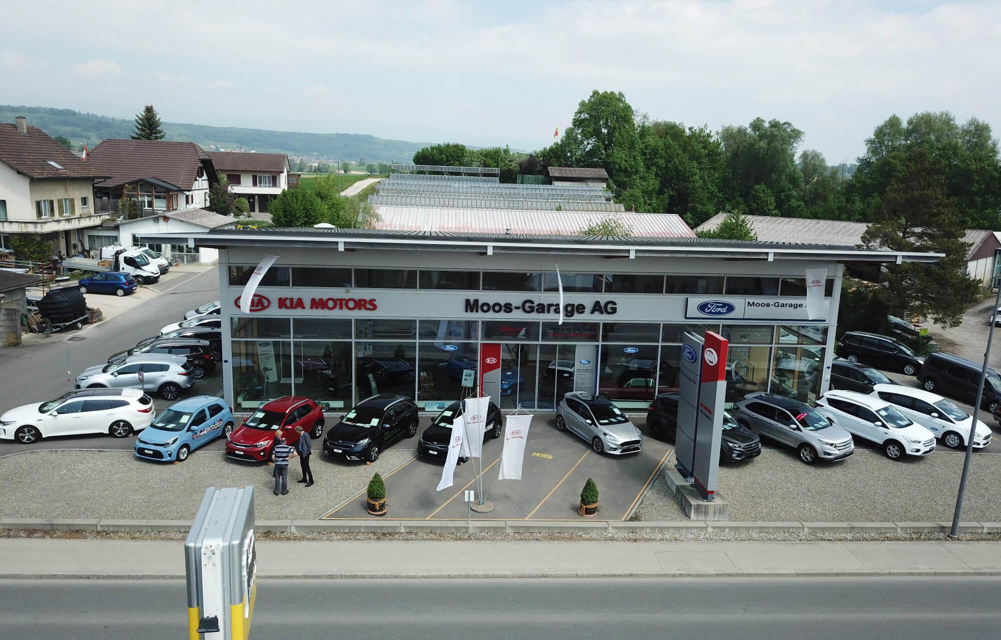 Moos-Garage AG Aussenansicht