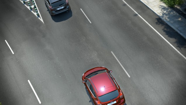 Ford adaptive Geschwindigkeitsregelung