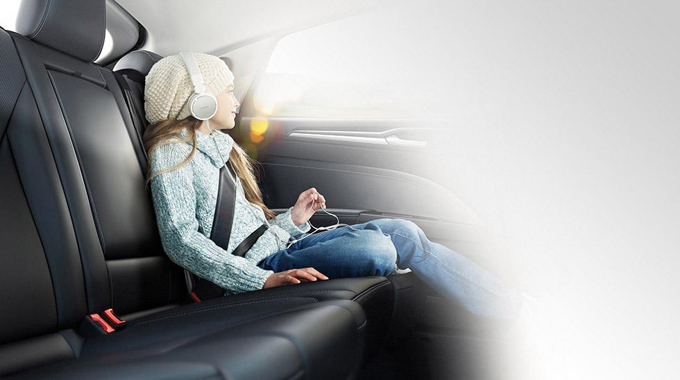 Ford Aufblasbare Rücksitzgurte