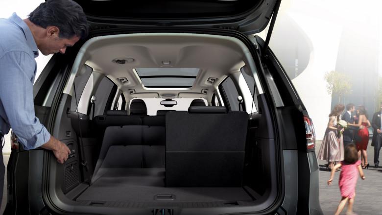 Ford EasyFold Sitzsystem
