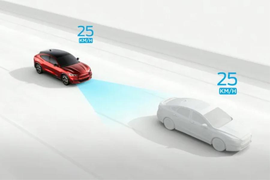 Intelligente Geschwindigkeitsregelanlage Simulation