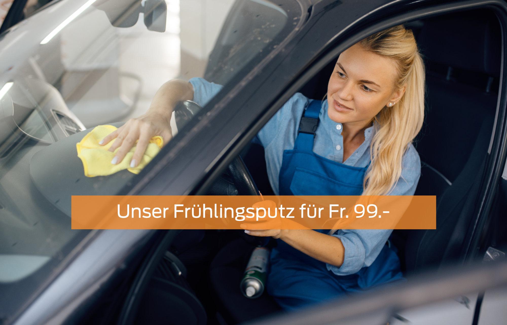 Frühlingsputz-Angebot für Fr. 99.-