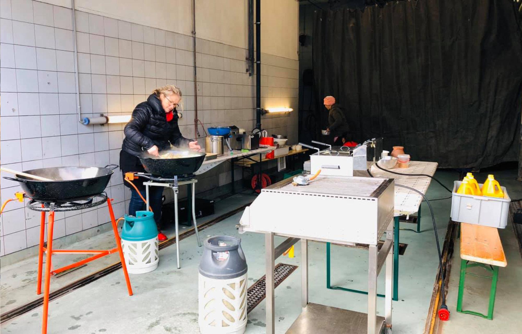 Garage Food Festival Mühle-Garage Brunner AG