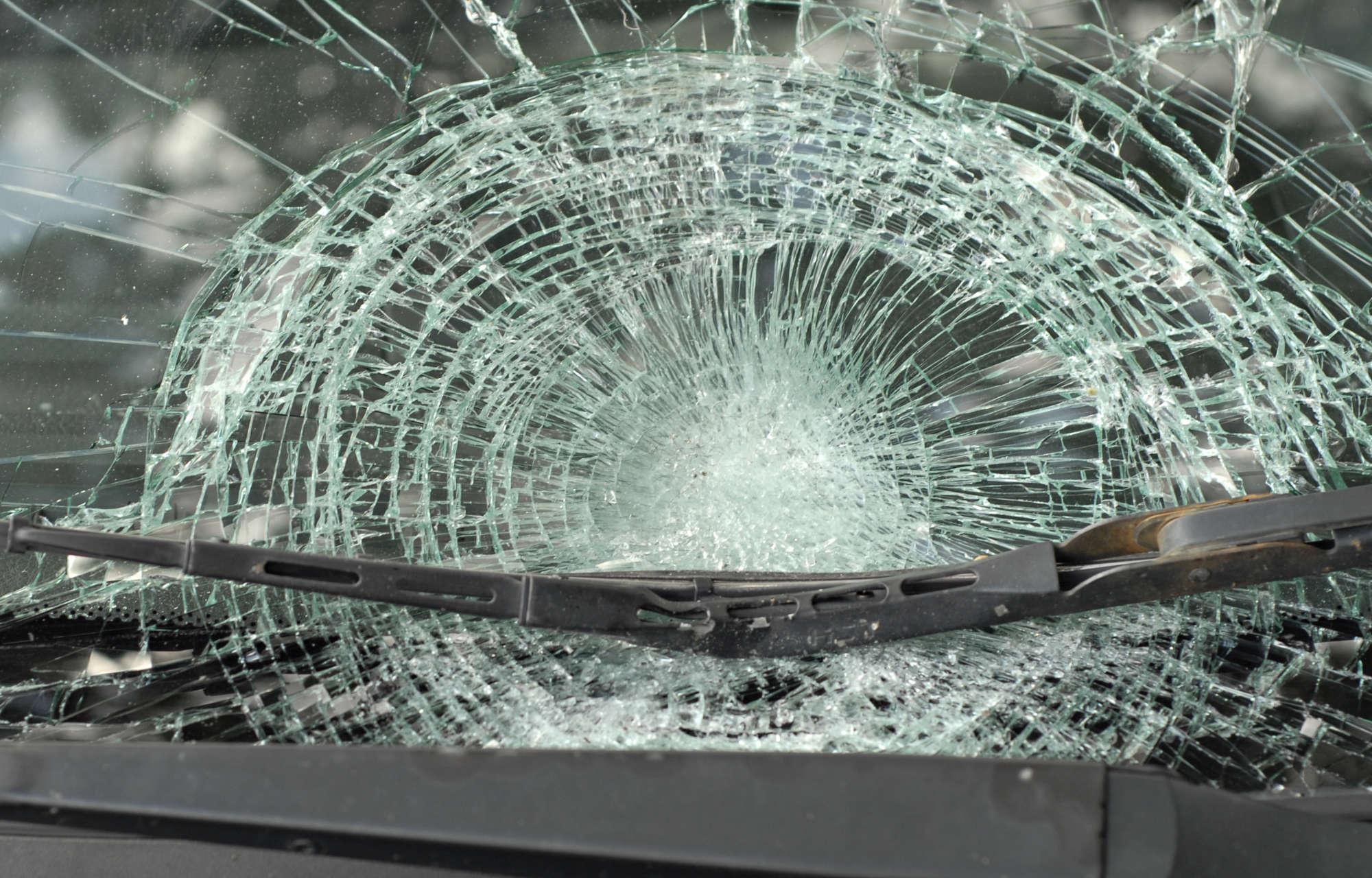 Glassschaden
