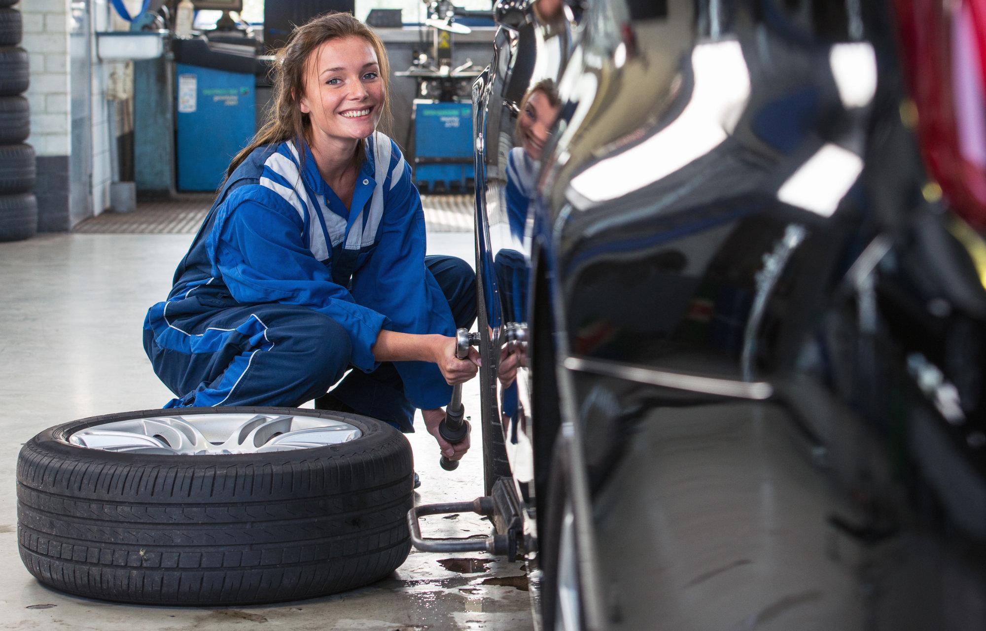 Rad- und Reifenwechsel