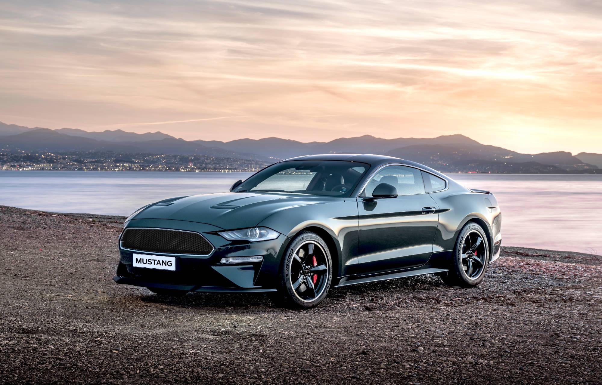 Mustang vorne