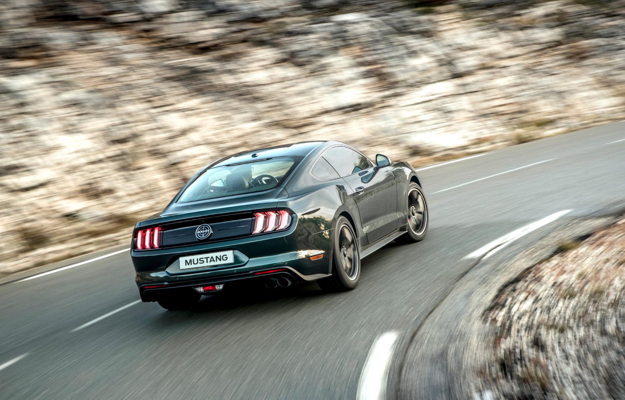 Mustang hinten