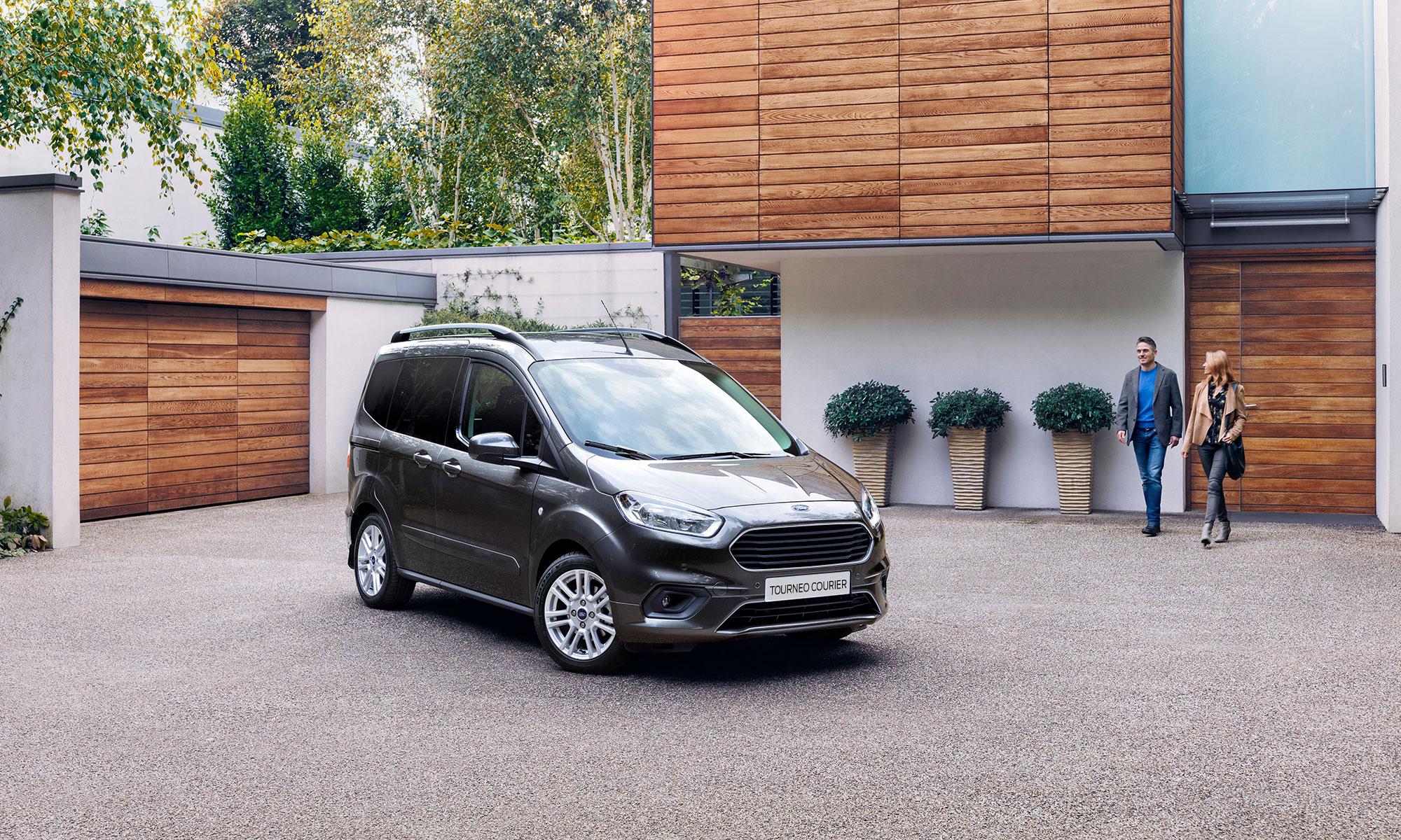 Der Neue Ford Tourneo Courier