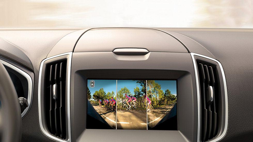 Kamera parkowania z przodu z szerokim kątem widzenia