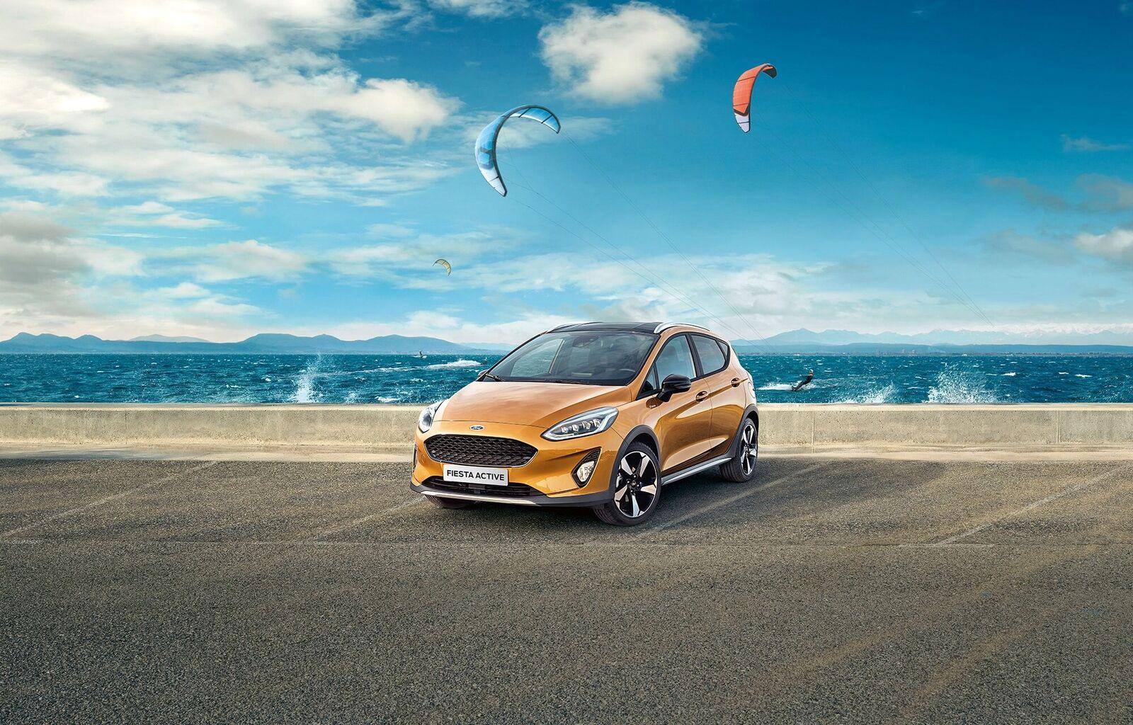 La nuova Ford Fiesta Active