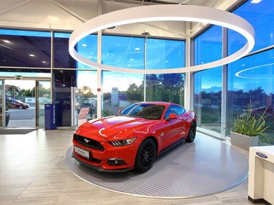 Ford Mustang FordStore AMB Praha