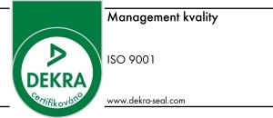 Certifikát Dekra Rašino Brno