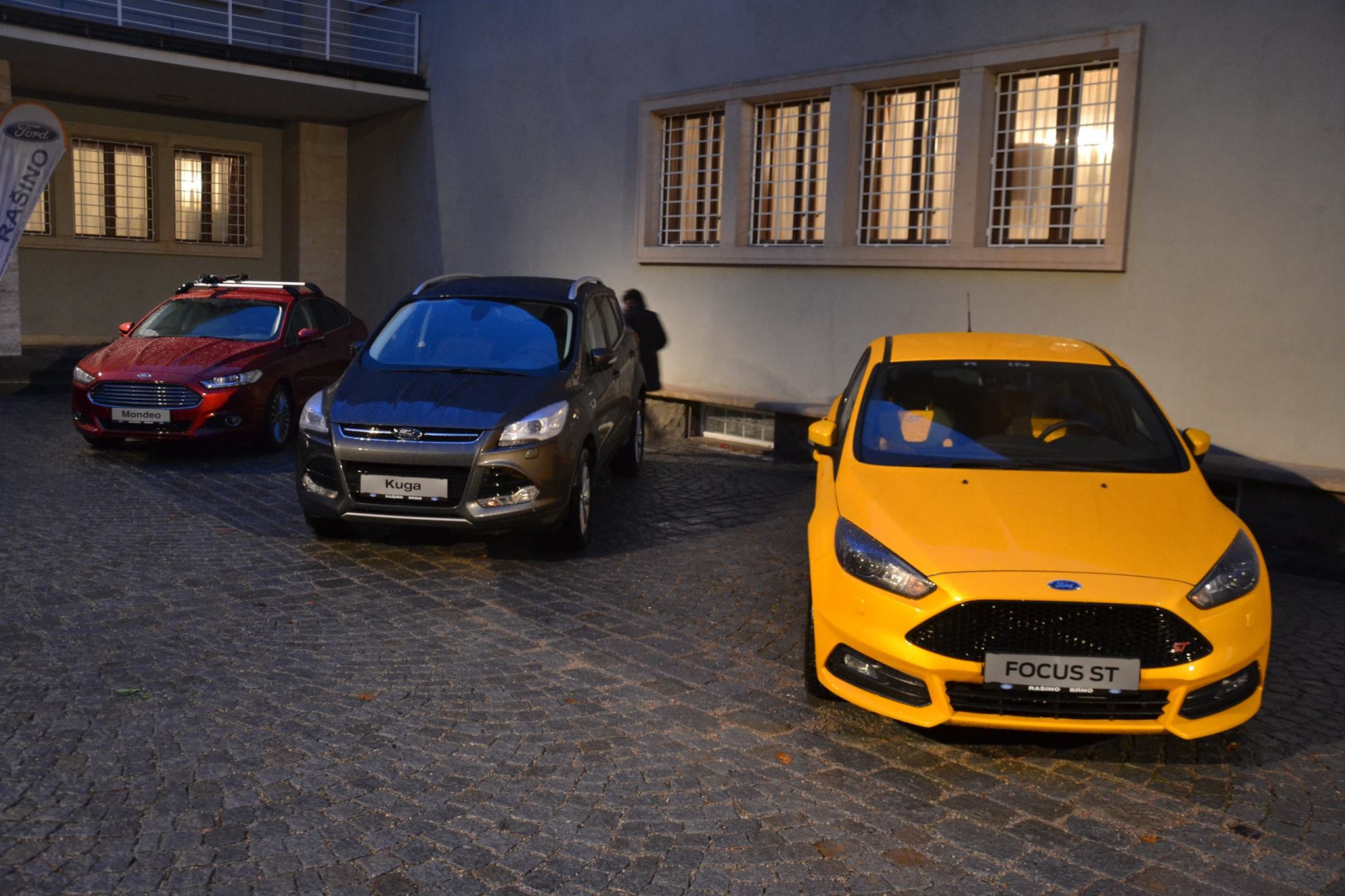 Ford Focus ST, Ford Kuga a Ford Mondeo - Rašino Brno