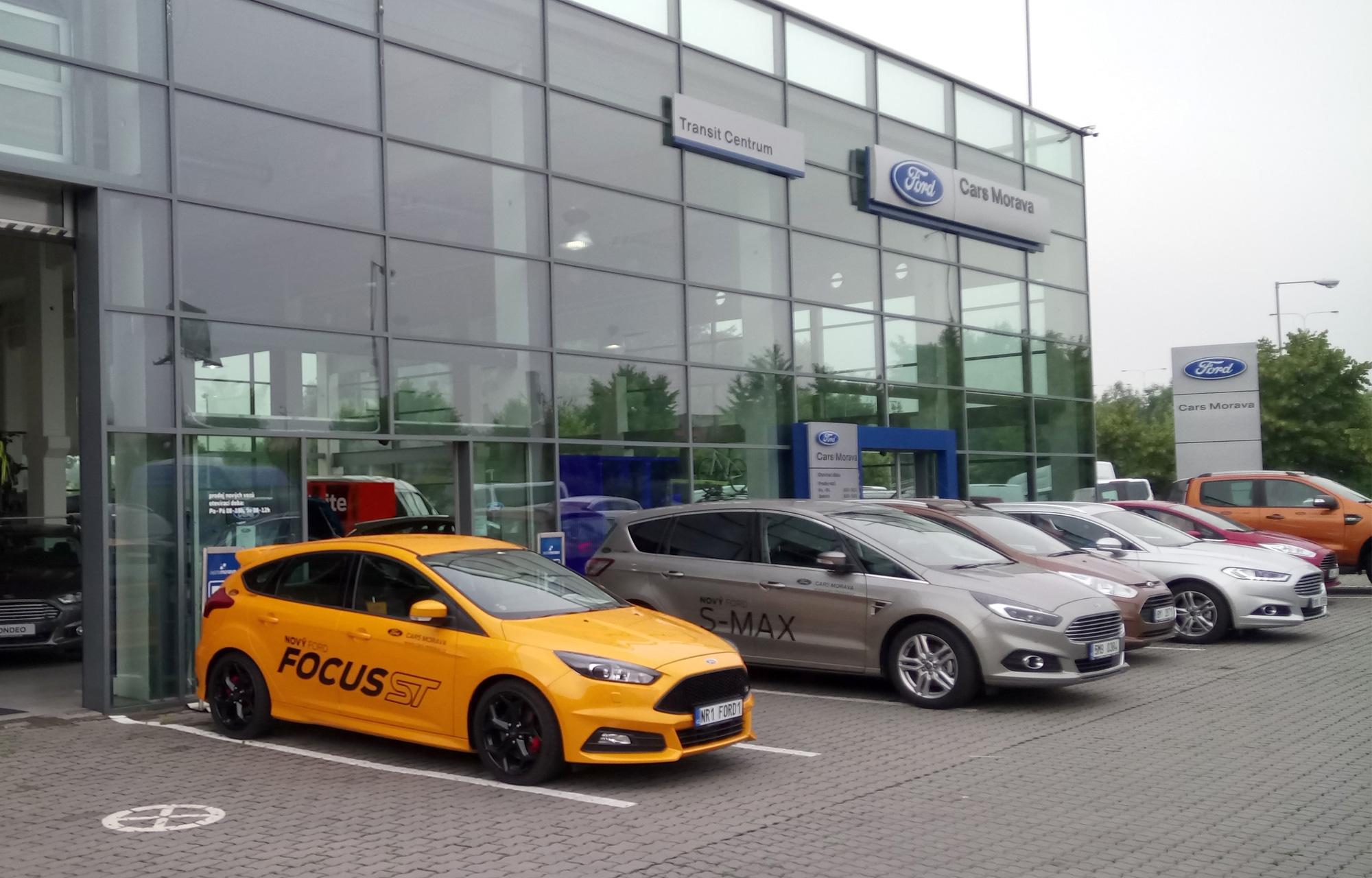 CARS MORAVA - autorizovaný partner Ford v Olomouci