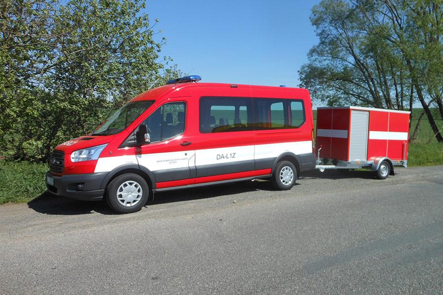 Ford Transit pro JSDH