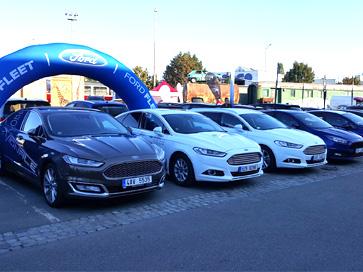 Ford Mondeo na Dni s Fleetem - Autospol Uherské Hradiště