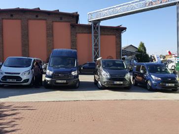 Užitkové vozy Ford na Dni s Fleetem - Autospol Uherské Hradiště