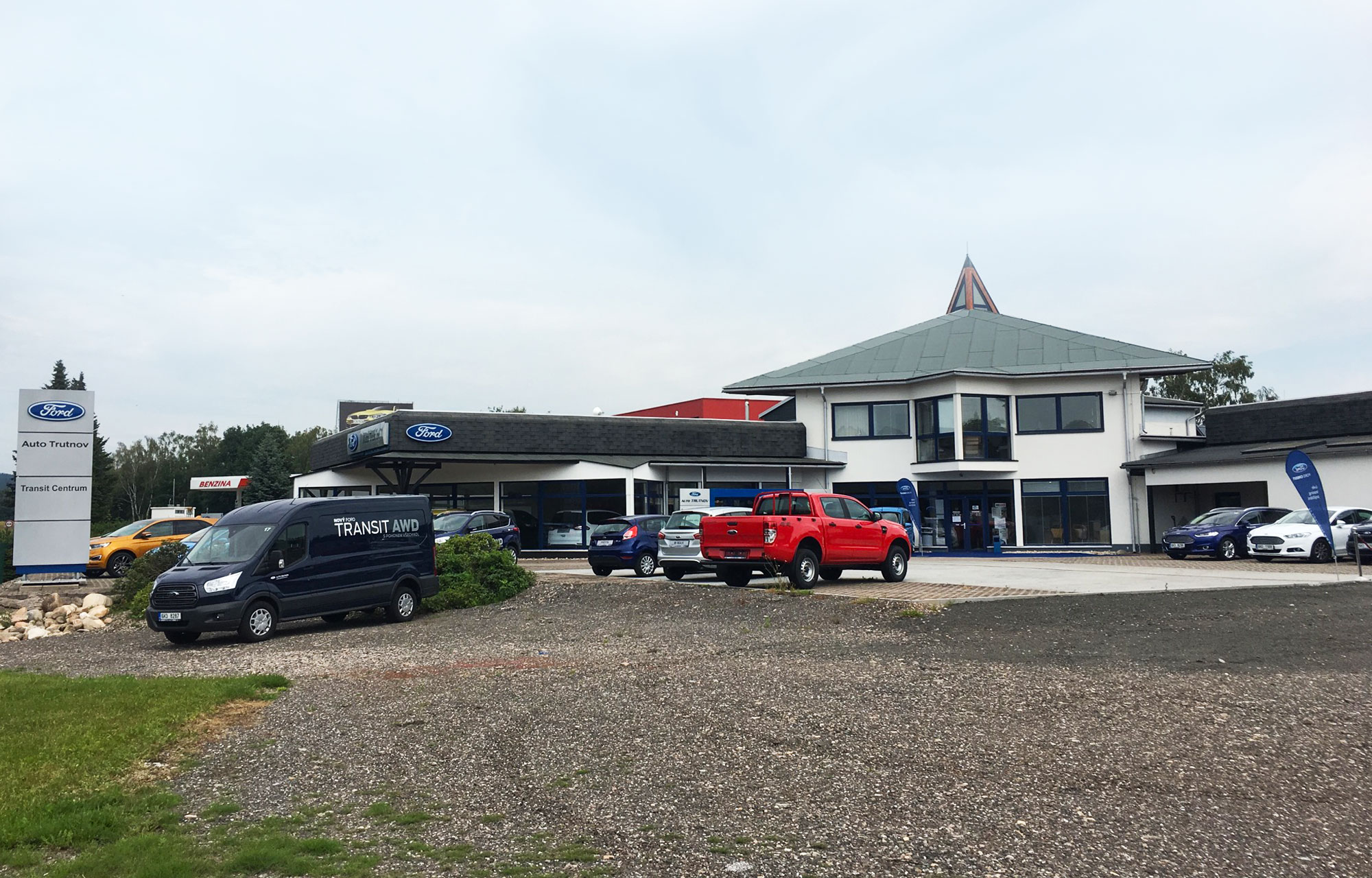 Auto Trutnov - autorizovaný partner Ford