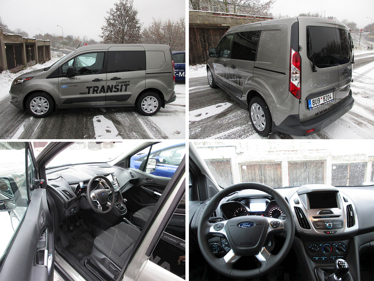Ford Transit Connect Kombi Van Urban Auto