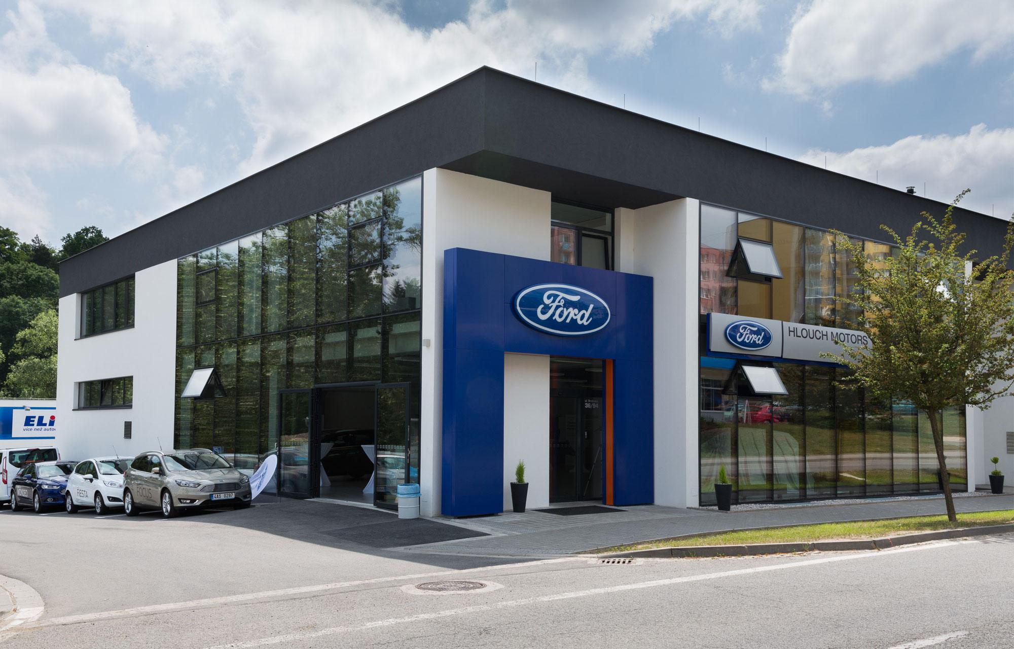 Ford Hlouch Motors - Třebíč