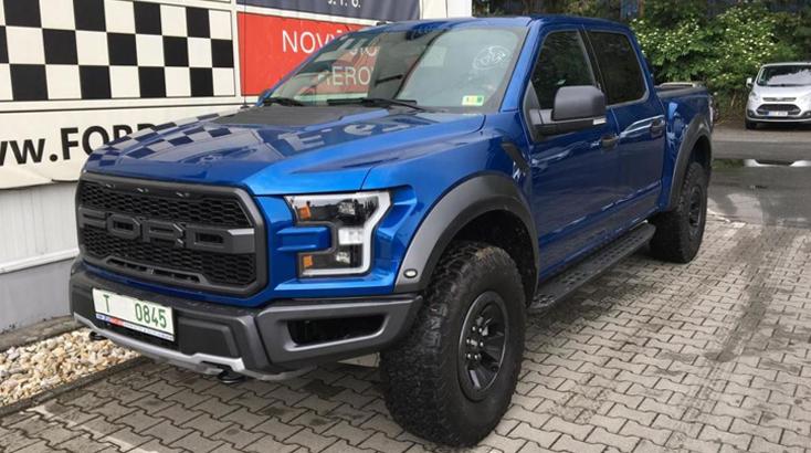 Ford Raptor - Ojetý vůz]