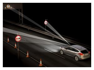 Funkce rozpoznání dopravních značek omezujících rychlost