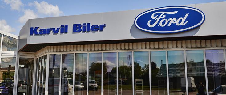 Åbningstider hos Ford i Fredericia og Middelfart