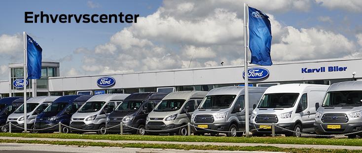 Karvil Biler I A/S Erhvervscenter i Fredericia og Middelfart
