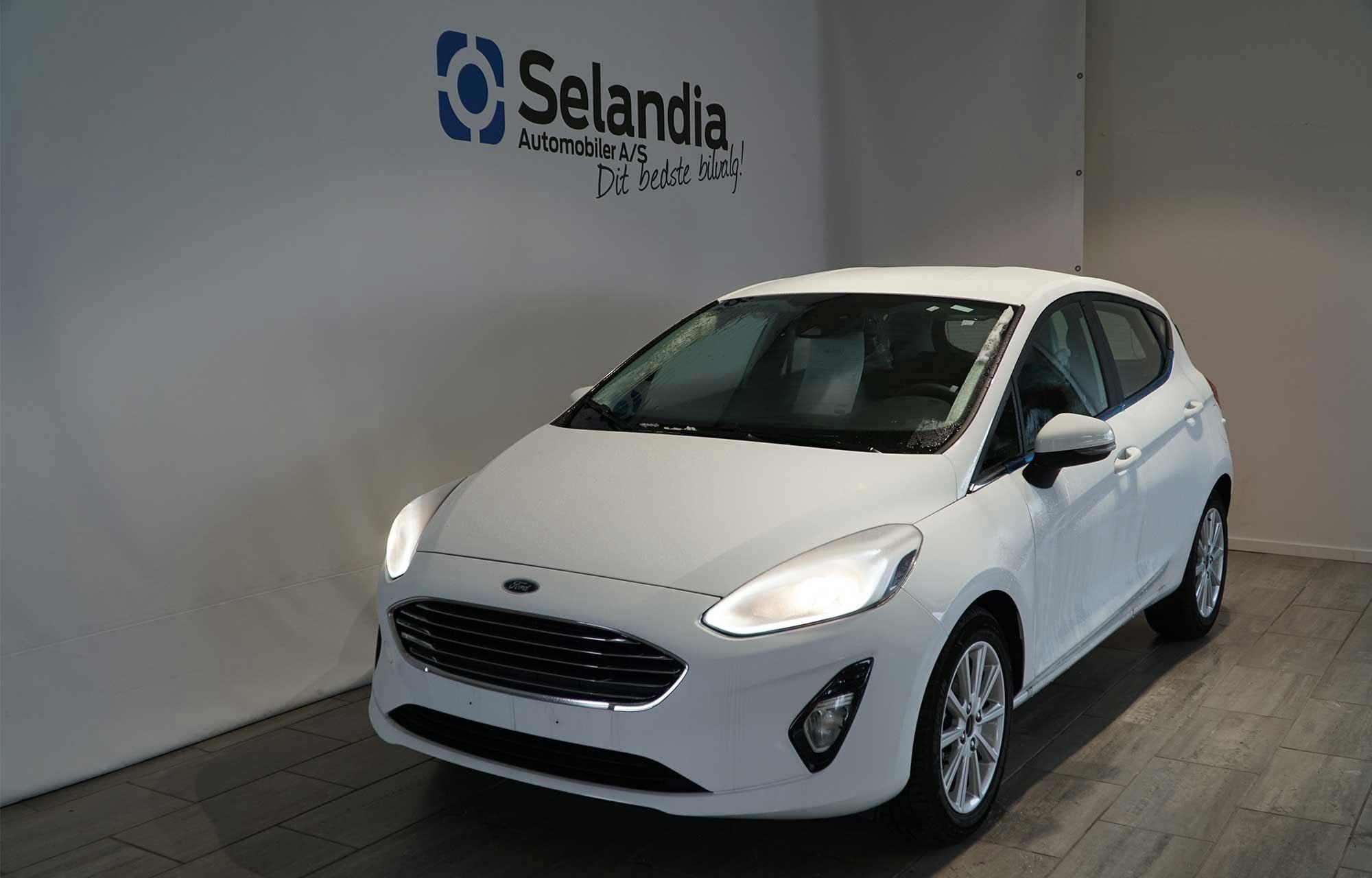 Ford Fiesta fra Danmarks første bilwebshop