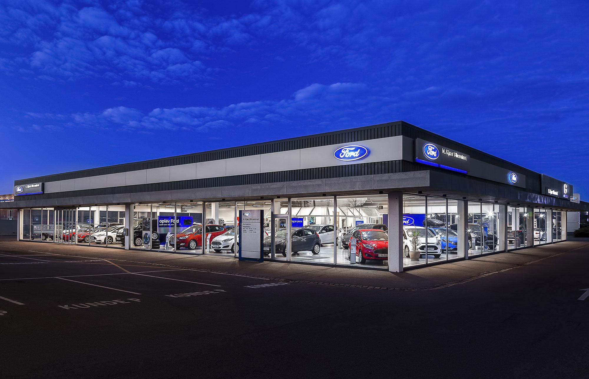 Ford forhandler i Svendborg