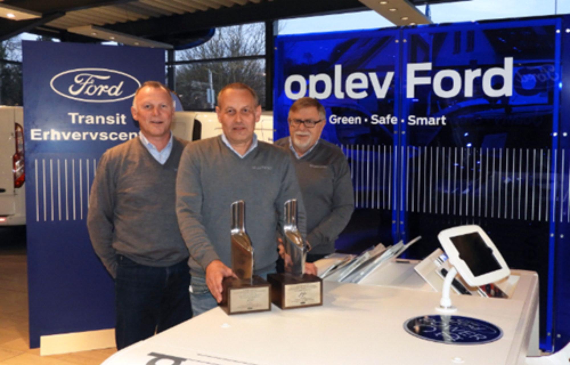 bilhusetTHYBO vinder to priser i Fords prestigefyldte Chairman Award. År 2016.