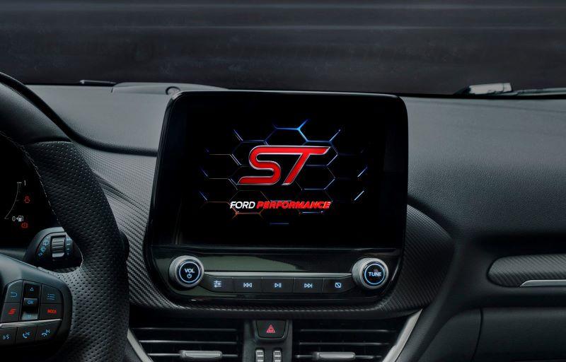Ford Puma ST fås med Ford SYNC 3