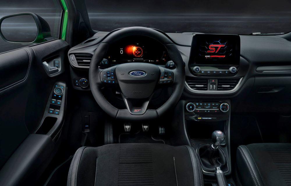 Ford Puma ST interiør