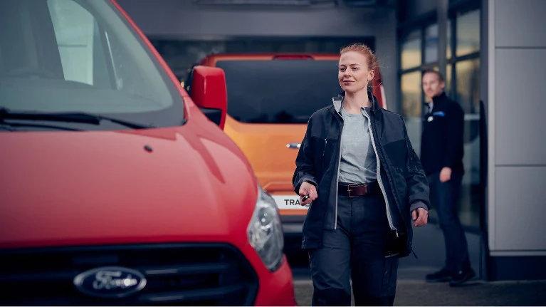 Ford service pro erstatningsbil