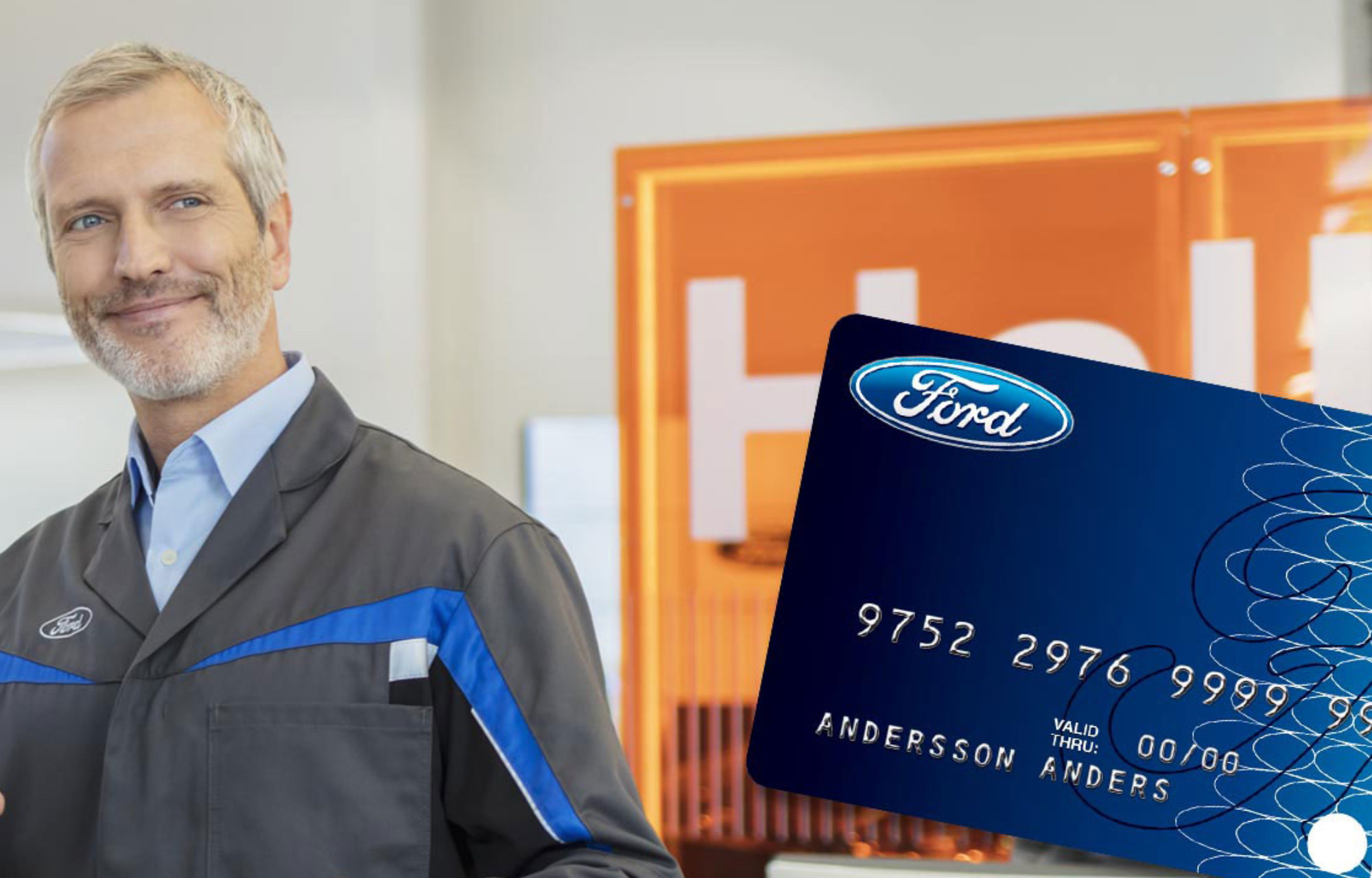 Ford Service Card