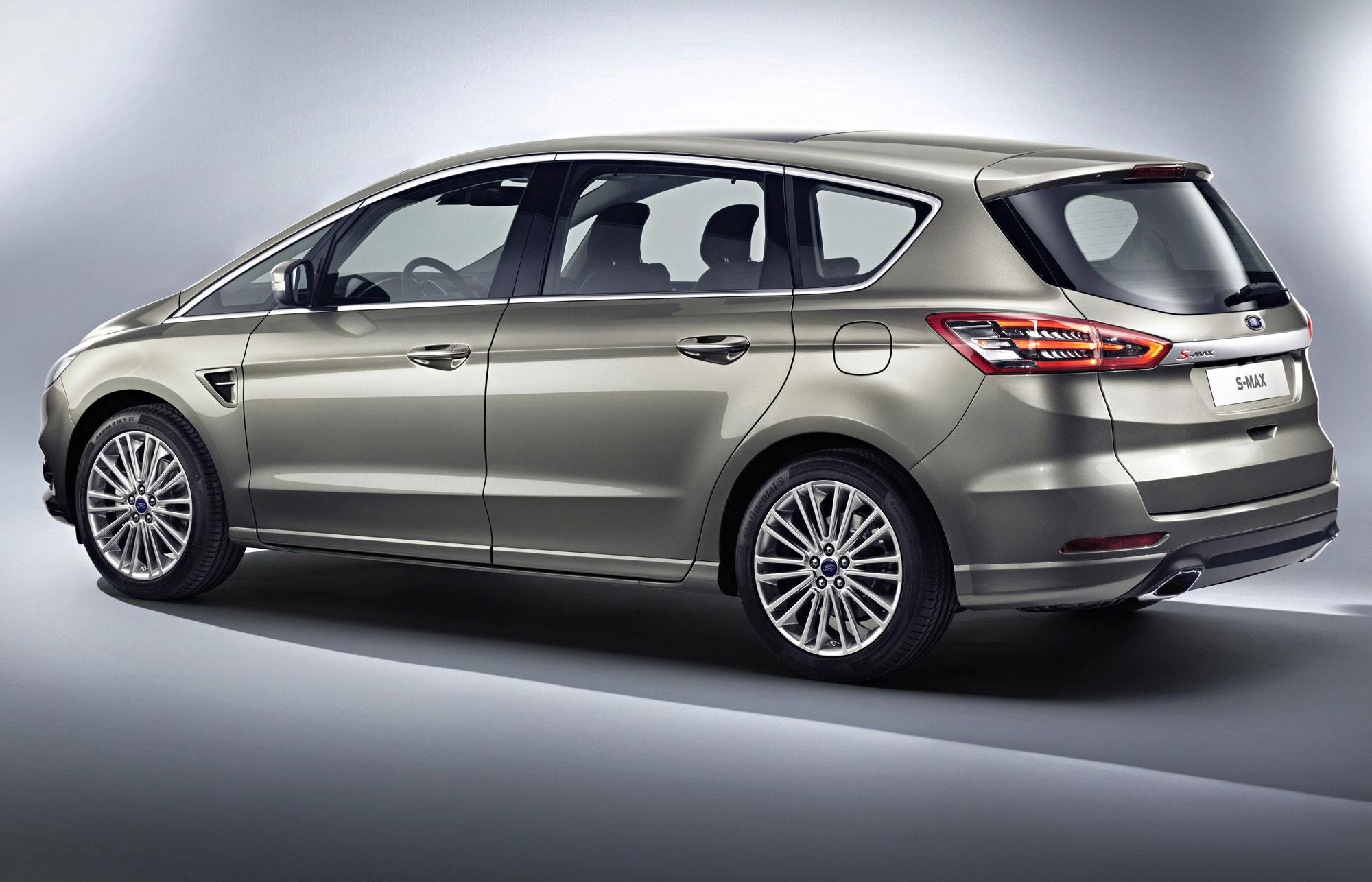 Fordin uusin S-MAX ja C-MAX esillä Pariisin autonäyttelyssä