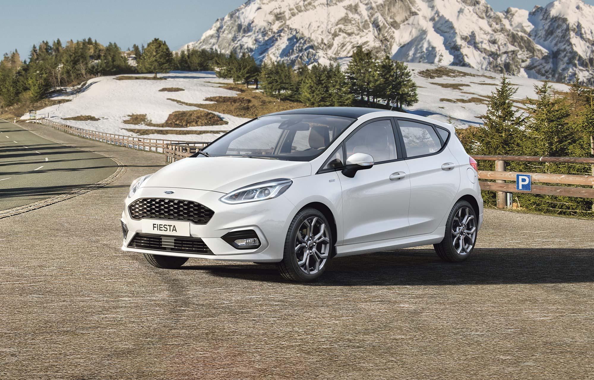 Fiesta -mallisto – 0 % rahoituskorko ja Talvivarusteet 0