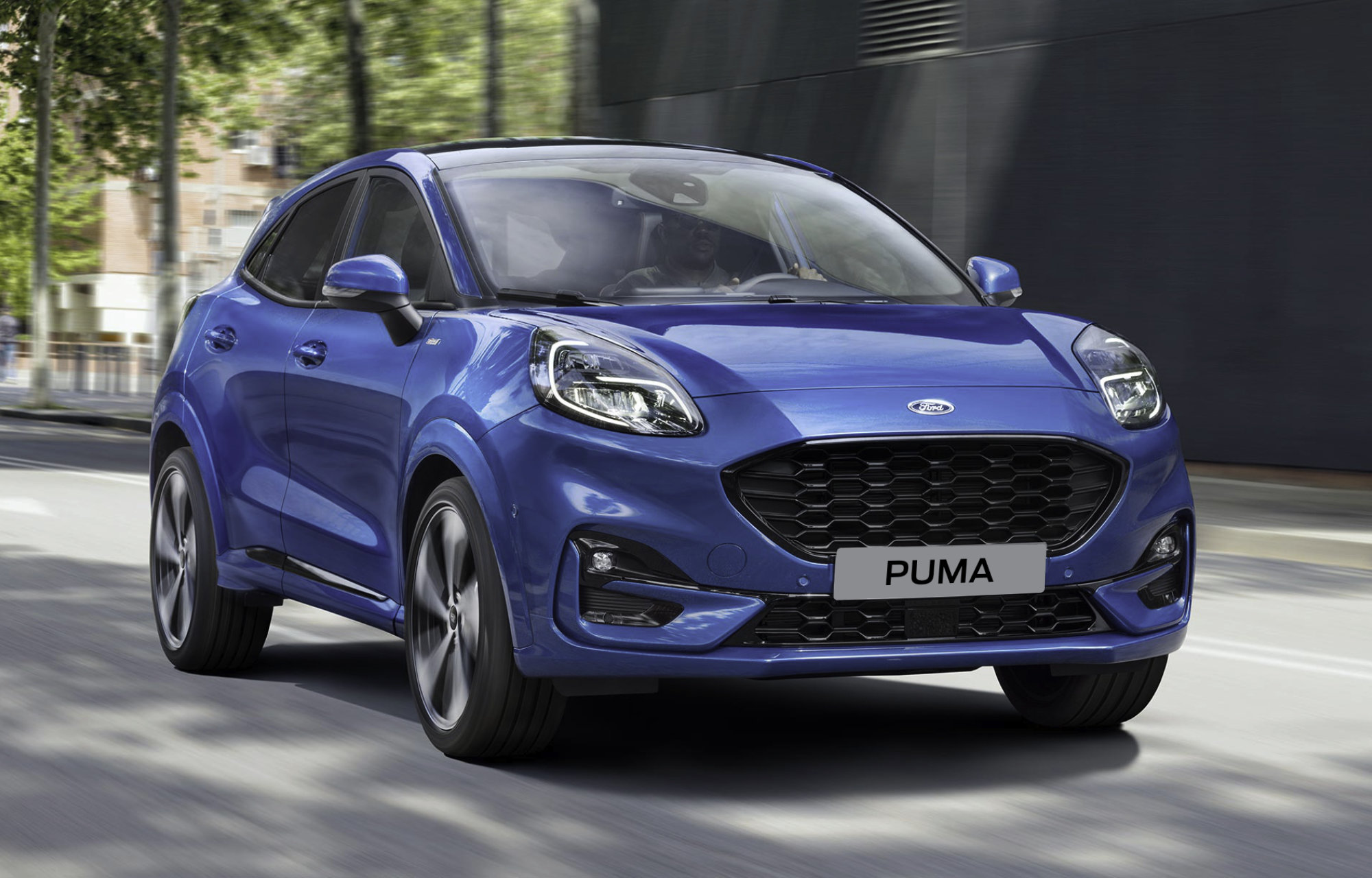Ford Puma - Technology to make driving a joy