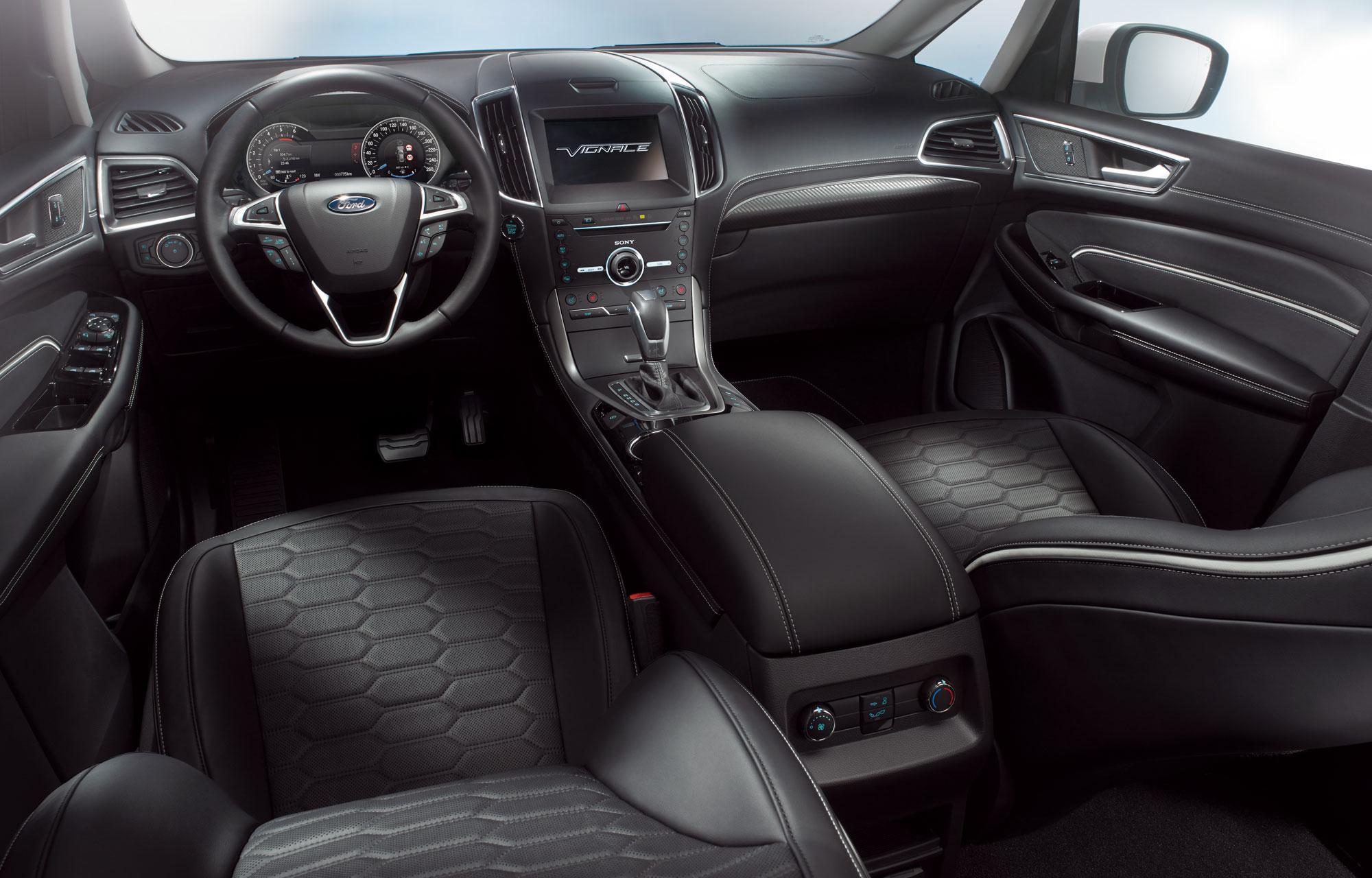 Ford S-MAX Vignale Intérieur