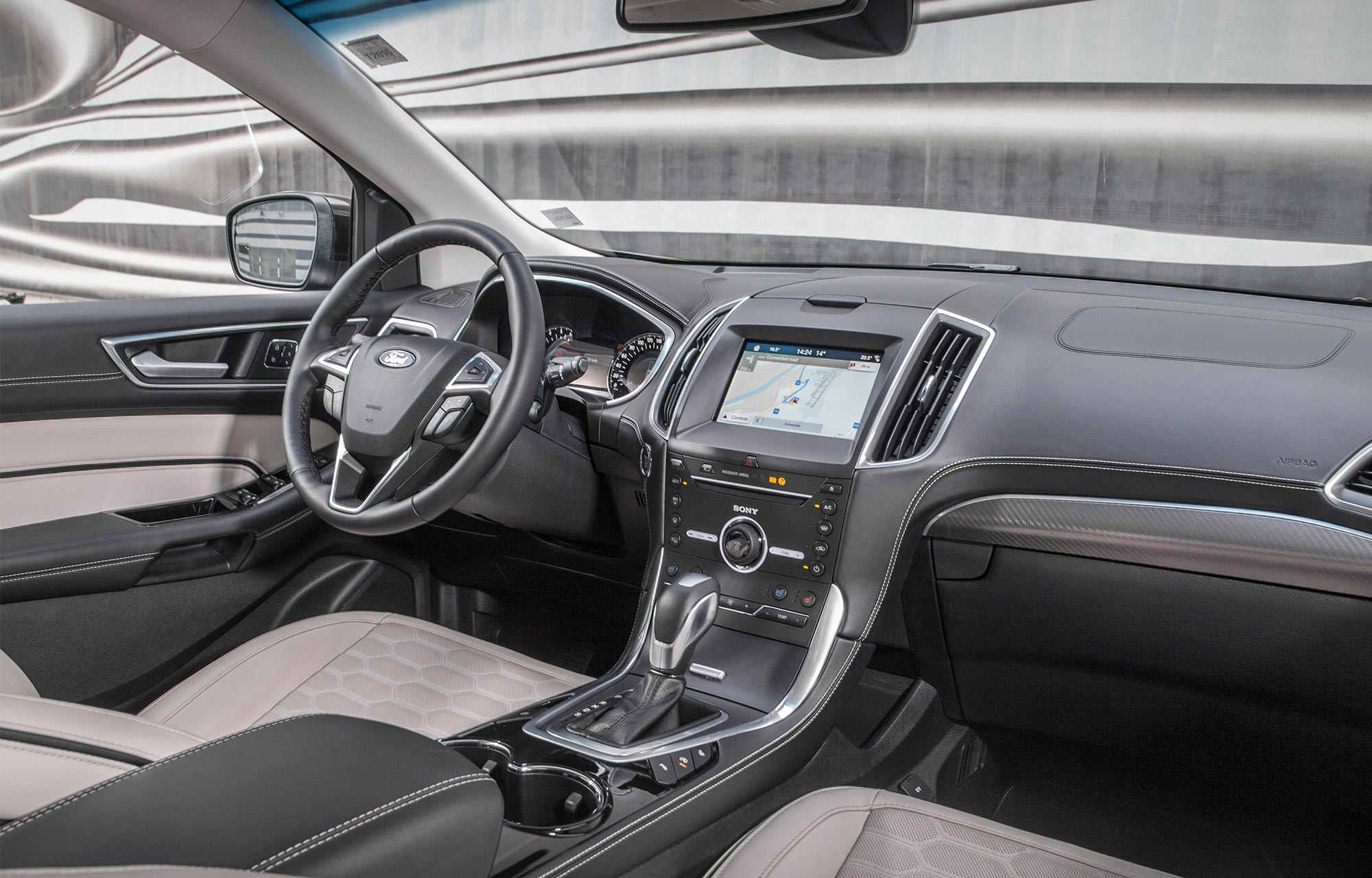 Ford Edge Vignale Intérieur