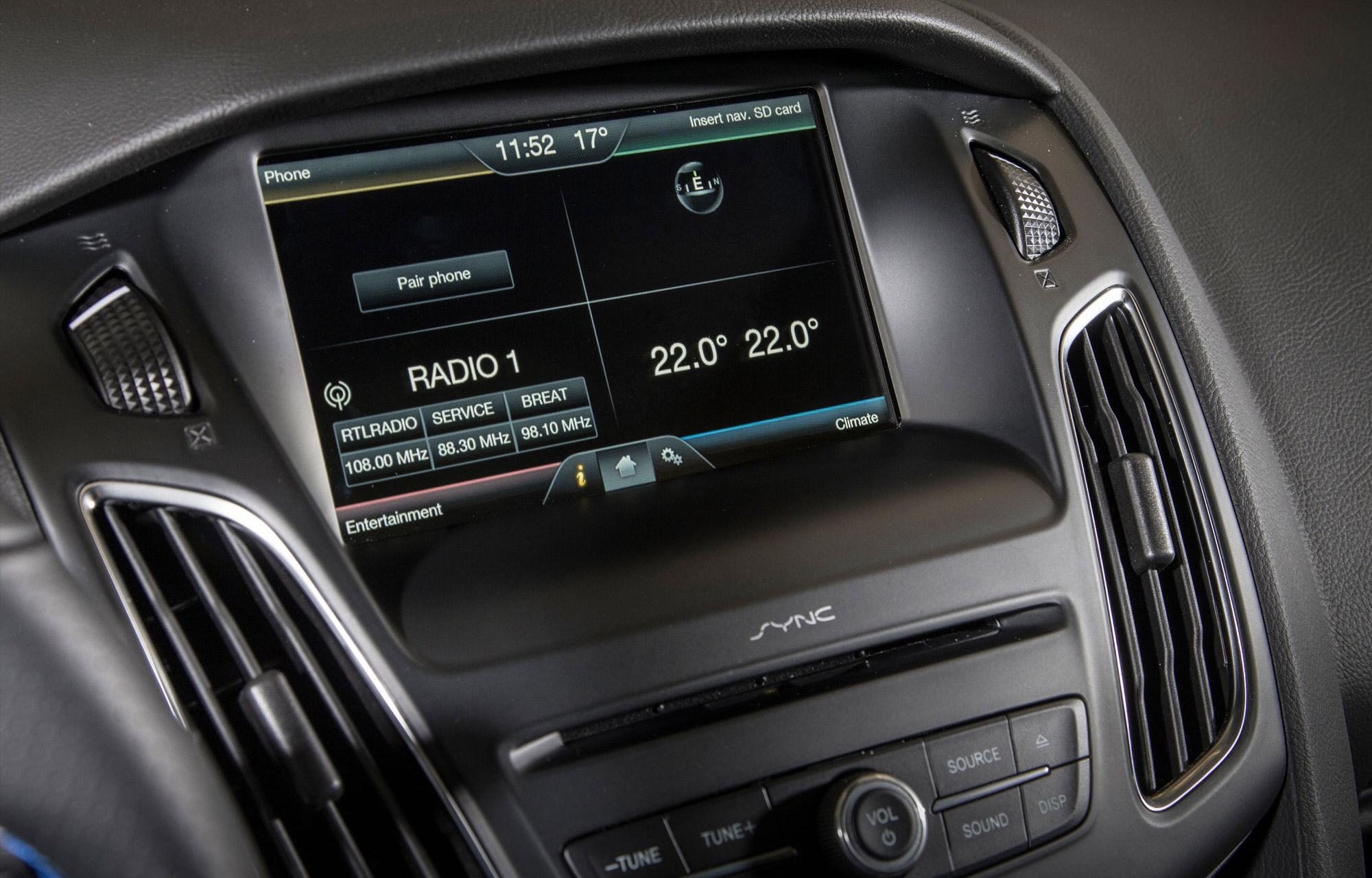 Ford Focus RS Intérieur