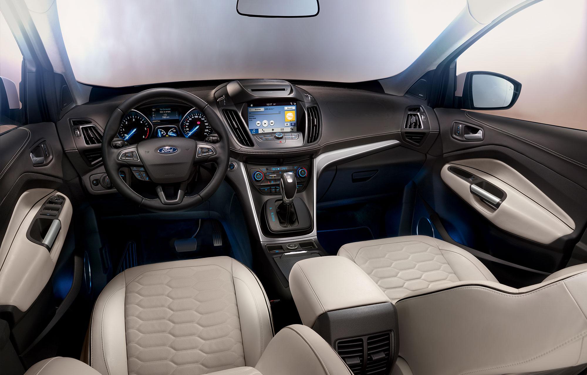 Ford Kuga Vignale Intérieur