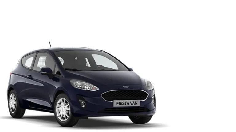 Új Ford Fiesta Van