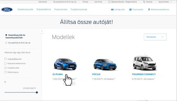 Válasszon modellt