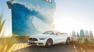 Ford Mustang garancia