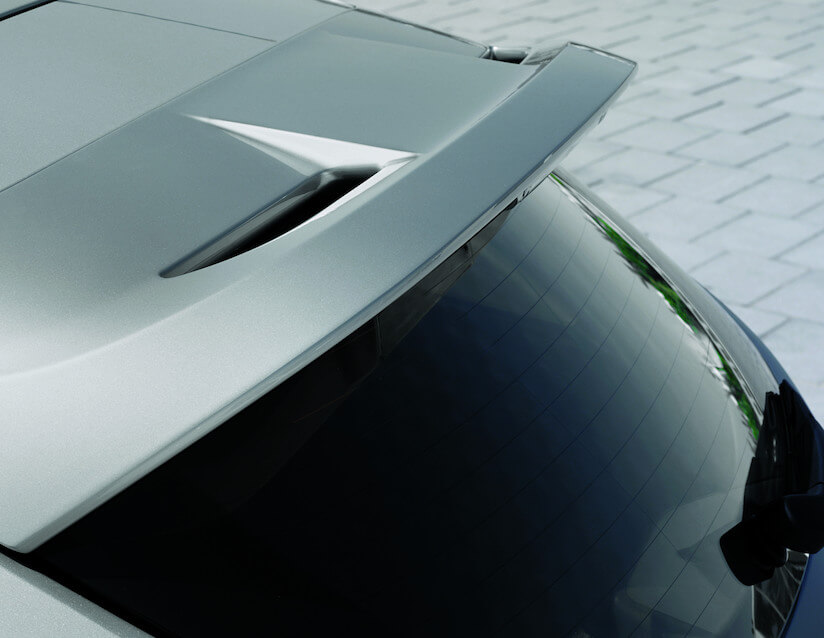 Ford Focus Accessories Rear Spoiler
