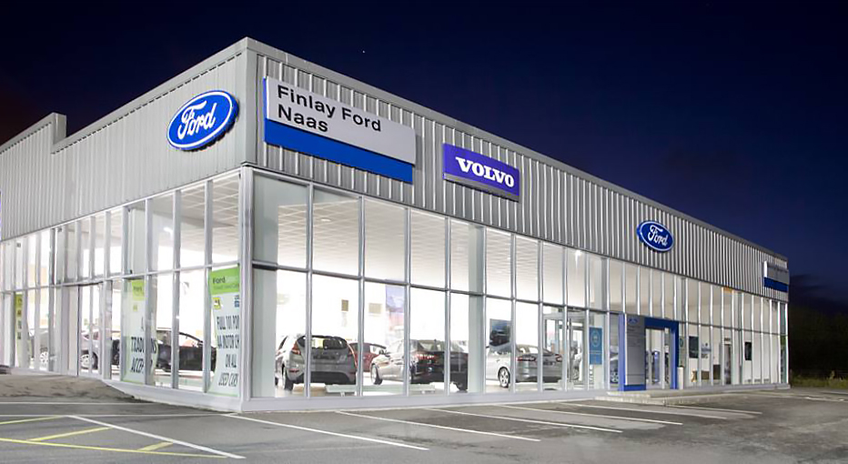 Finlay Ford Showroom