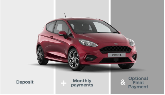 Ford Options at Finlay Ford